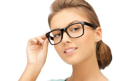 Occhiali da vista completi con lenti a scelta o sostituzione di lenti monofocali da Ottica 4 Eyes (sconto fino a 81%)