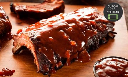 Varandas – Ramos: costelinha suína ao molho barbecue e fritas