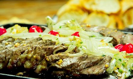 Picanha no rechaud + Heineken 600ml para 2 ou 4 pessoas no Vinttage Music Bar & Restaurante –Taboao da Serra