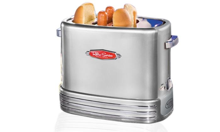 Pop Up Hot Dog Toaster Groupon Goods