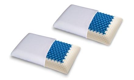 2 cuscinitraspiranti Blue2Air in memory foam MyMemory Materassiedoghe