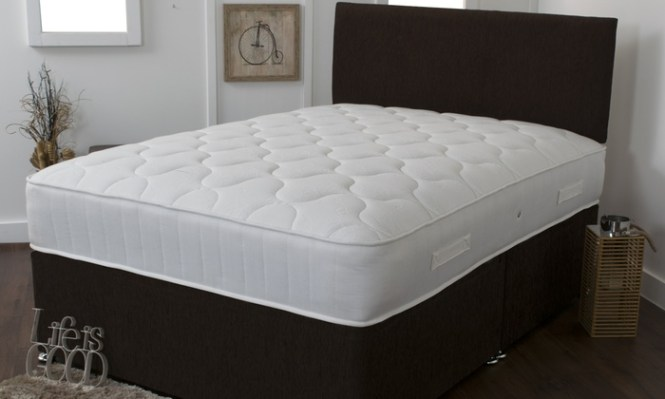 Groupon Goods Global Gmbh 3000 Bamboo Memory Foam And Pocket Sprung Mattress With Free Delivery