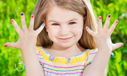 Image Placeholder For Mani Pedi One Or Two At Cutie Patootie Kids Entertaining Spa