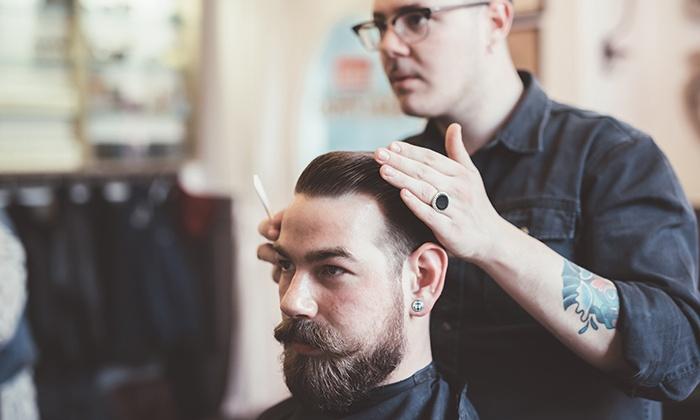 Mens Haircut And Blow Dry Luppinos Organic Hair Groupon