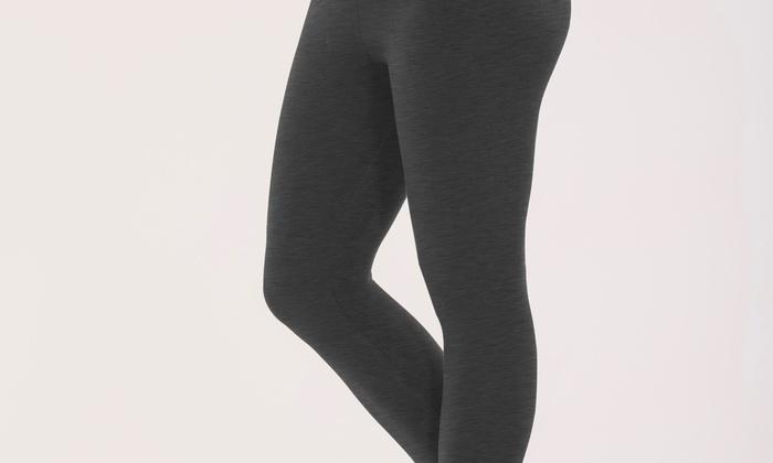 8b635ef2edeaa Bally Total Fitness Women S Tummy Control Capri Legging Size Medium