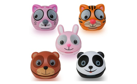 Zoo-Tunes Compact Portable Blootooth Stereo Character Speakers