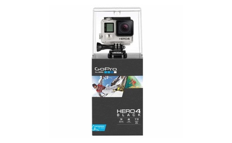 GoPro HERO4 HD 4K Camera Bundle