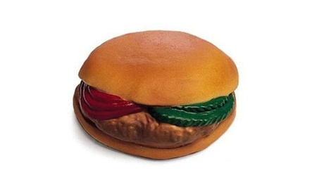 Ethical Products Vinyl Hamburger W Tomato Pckle 4 Inch - 3086