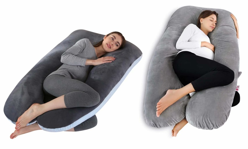 pregnancy pillow u shape full body pillow and maternity support sleeping pillow