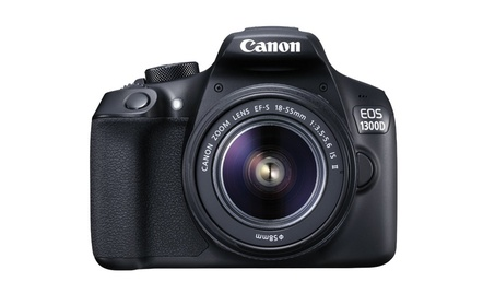 Canon EOS 1300D EF-S 18-55mm 18.7MP CMOS  5184 x 3456 Pixels (Black)