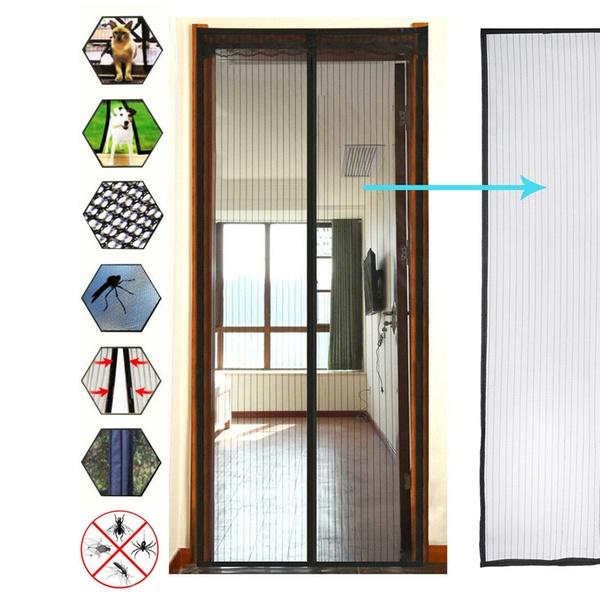 mosquito door net mesh screen bug fly
