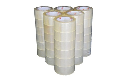 A Grade Heavy Duty Packing Tape - 110 Yards and 2mil Thick - 6 Pk