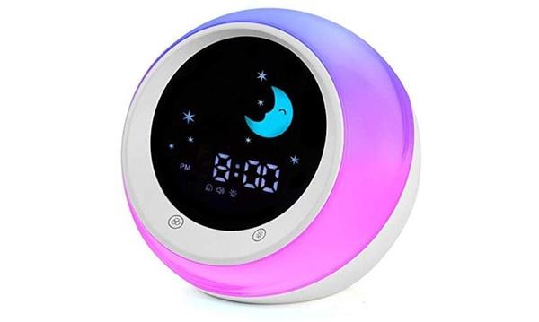 Sun Moon Rise Alarm Clock For Kids
