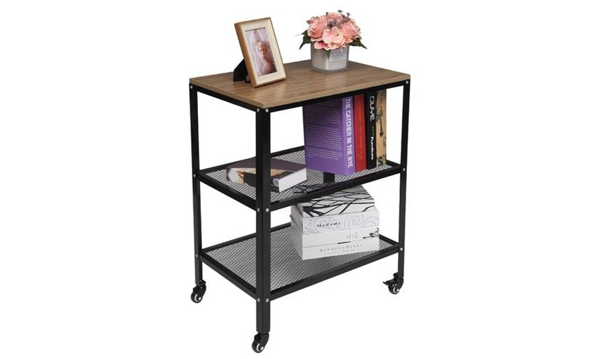 3 tier kitchen microwave cart rolling kitchen utility cart for living room
