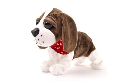 Interactive Animated Walking Pet Electronic Dog Plushl Toy Puppy