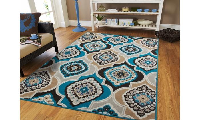 large area rugs brown modern living room rug 8x10 geometric hallway runner rugs