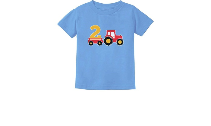 Unisex Kids Birthday Gift For 2 Year Old Boy Truck 2nd Birthday Boys Toddler Kids T Shirt Clothing Shoes Accessories Vishawatch Com