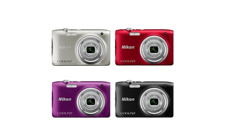 Nikon Coolpix A100 20.1MP 5X OPtical Zoom Digital Camera