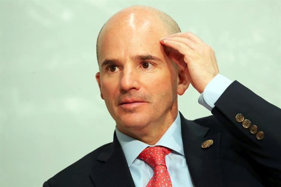 Va González Anaya, ex titular de Pemex y SHCP, a Televisa