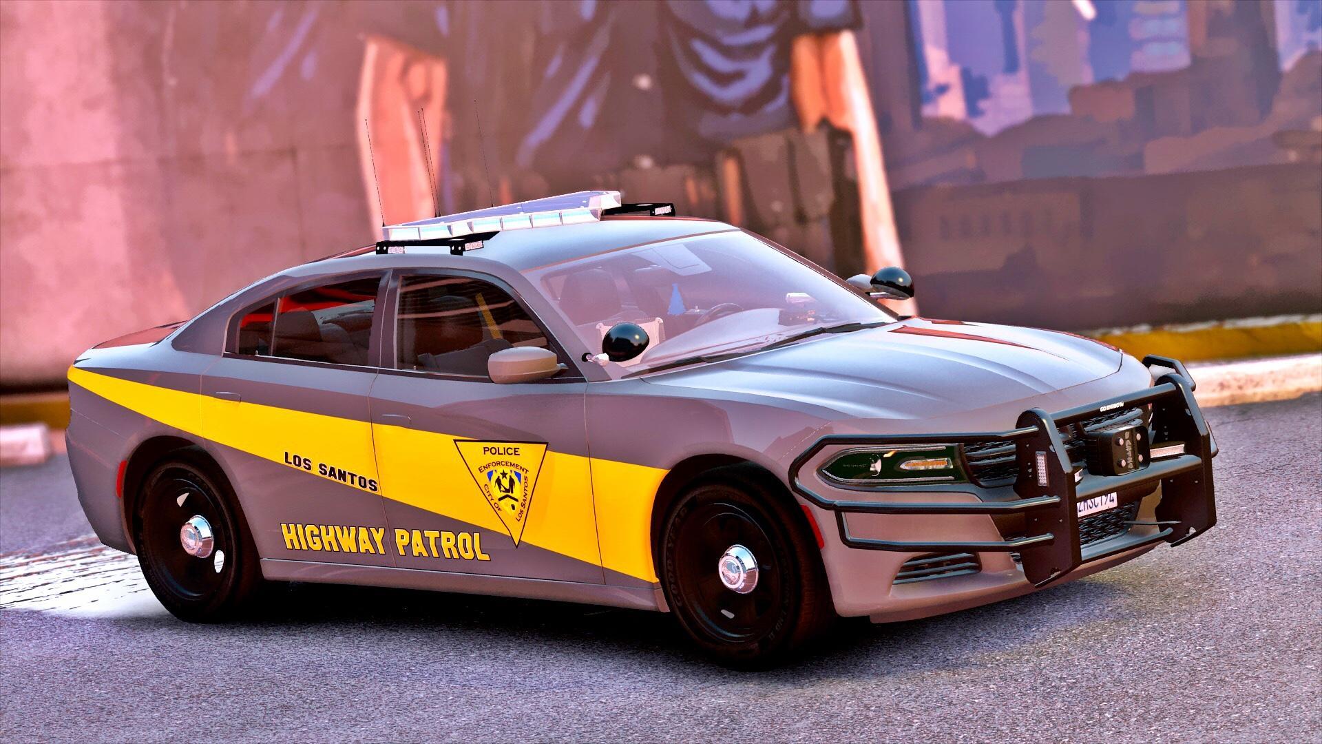 2016 Els Unmarked Dodge Charger Vehicle Models (4) - Modern