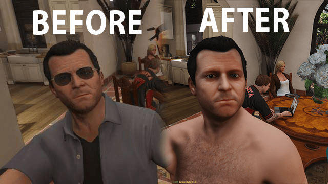 New Younger Michael 4k Gta5 Mods Com