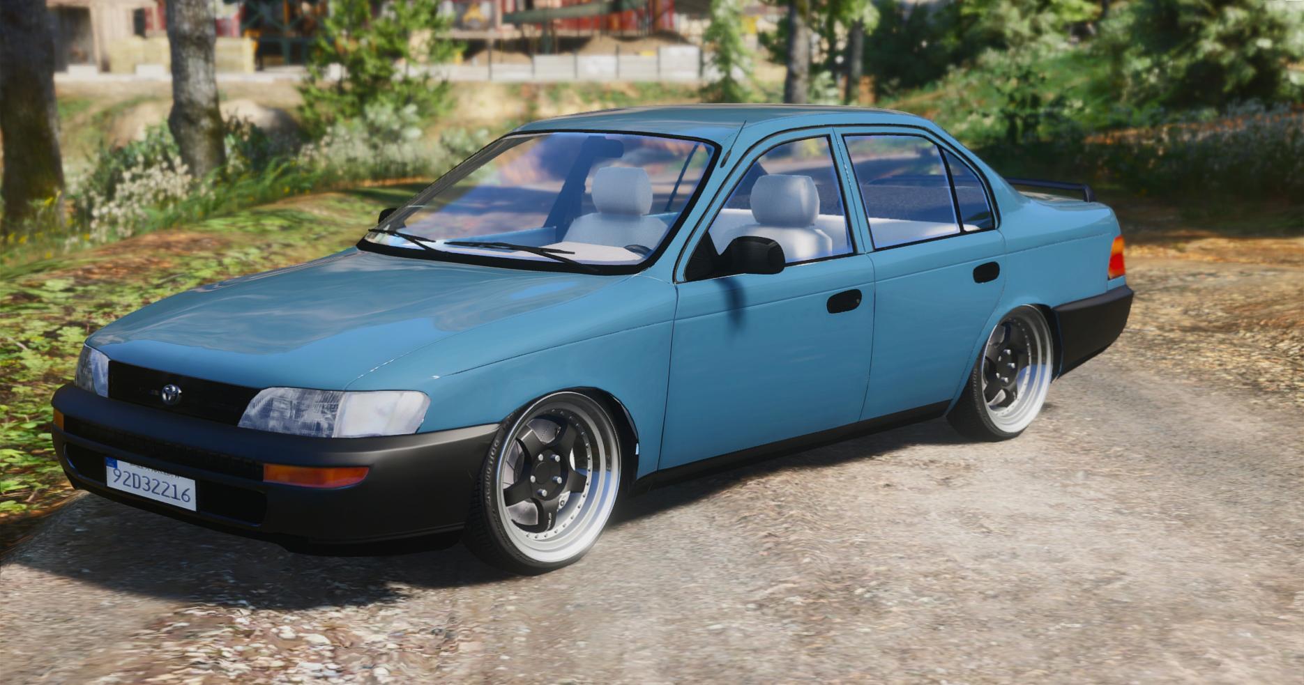 Toyota Corolla 1995 XLI Irish Based