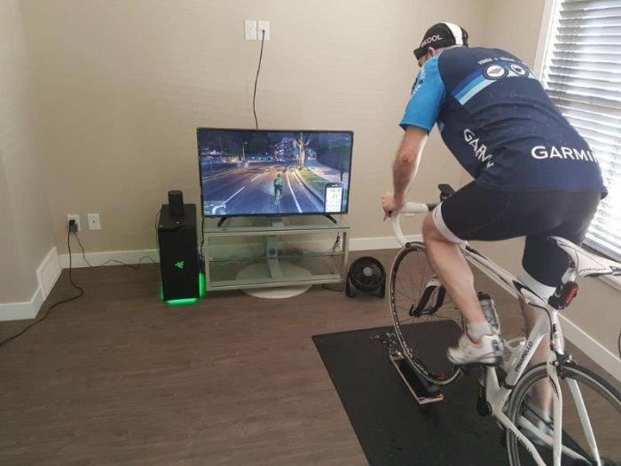 Este cara fez um mod para se exercitar enquanto joga GTA V