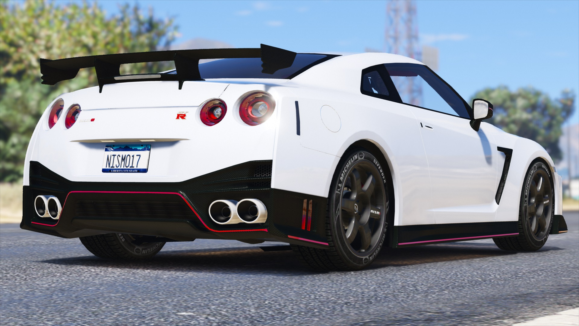 2017 Nissan GTR Nismo Add On Replace
