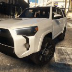 2020 Toyota 4runner Add On Fivem Gta5 Mods Com