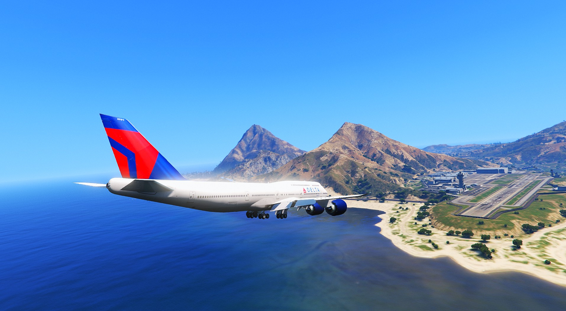 Delta Airlines New Livery