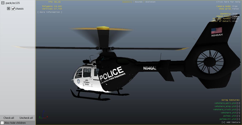 Police Dallas Helicopter Gta 5