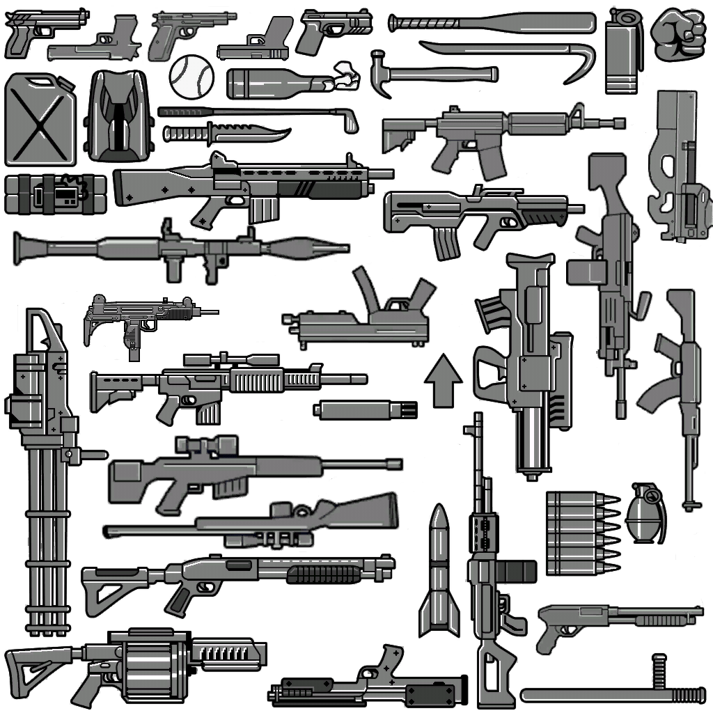 Gta Iv And Eflc Weapon Icons