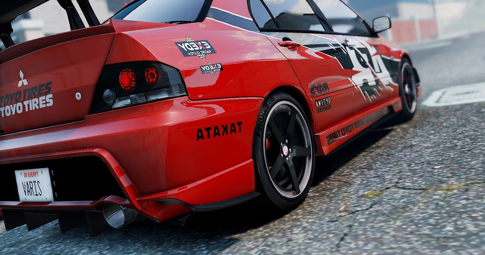 Fast And Furious Tokyo Drift Car Red