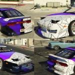 Nissan 240sx Bn Sports Livery Fd Styled Gta5 Mods Com
