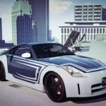 Nissan 350z Tokyo Drift Silver Vinyl Gta5 Mods Com