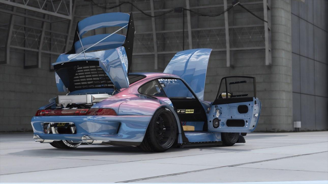 Porsche 911 RWB, Porsche 911 RWB Car Mod BUSSID, Mod Porsche 911 RWB BUSSID, Porsche 911 RWB Mod, BUSSID Car Mod, SGCarena