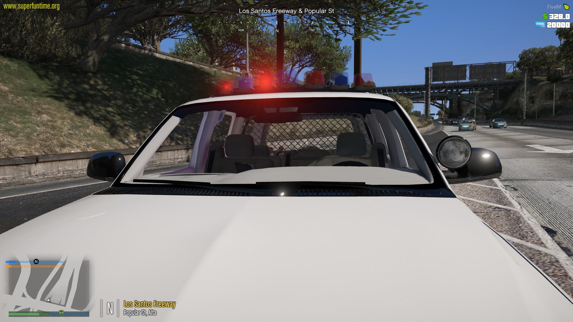Tahoe Undercover Police Truck