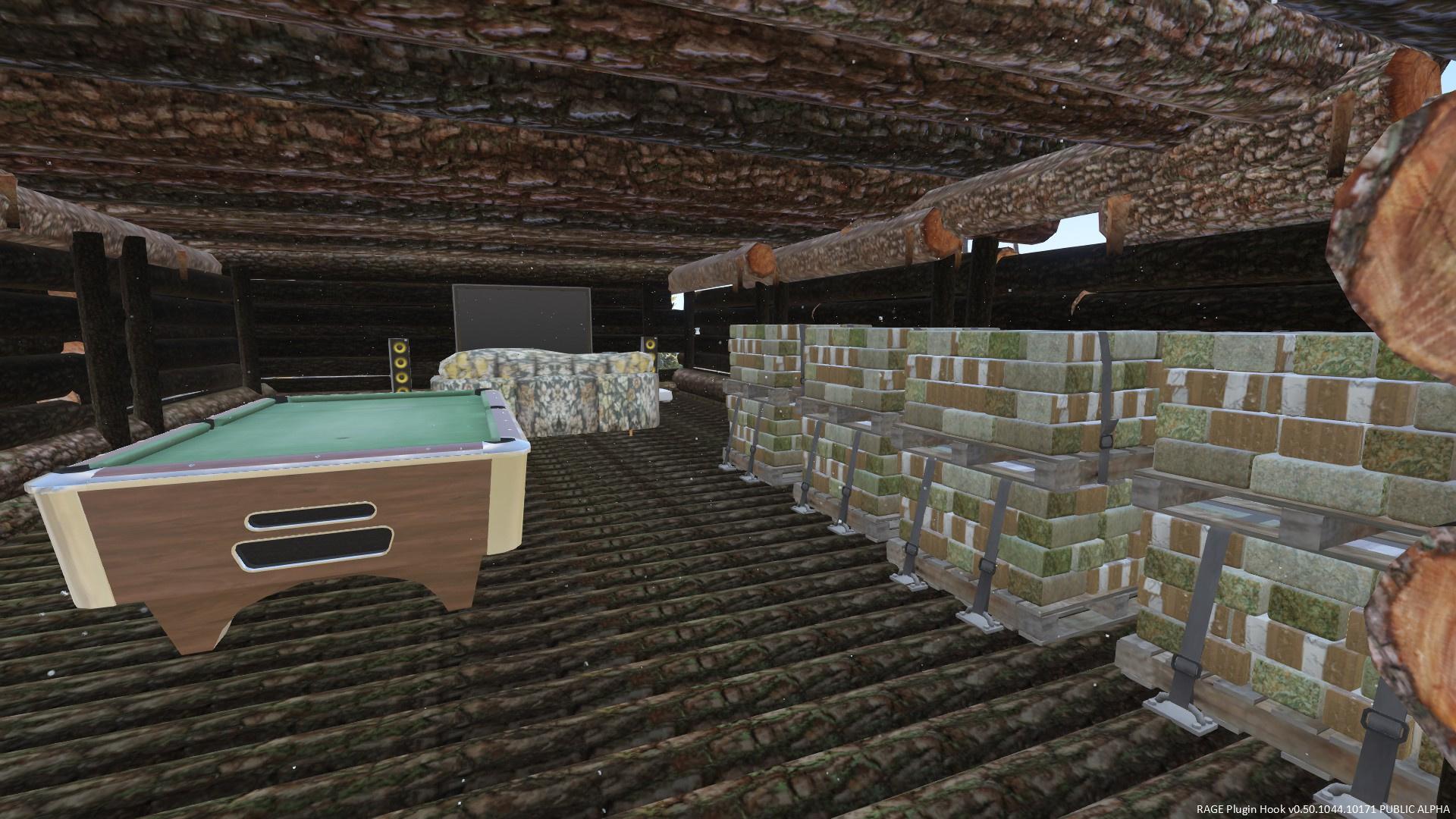 Trevors New Log House