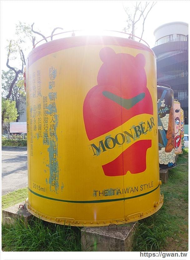 台中景點,文化創意產業園區,酒桶彩繪,大酒桶,台中舊酒廠,台中車站,後火車站,有很多大酒桶的地方,月亮小熊-12-555-1