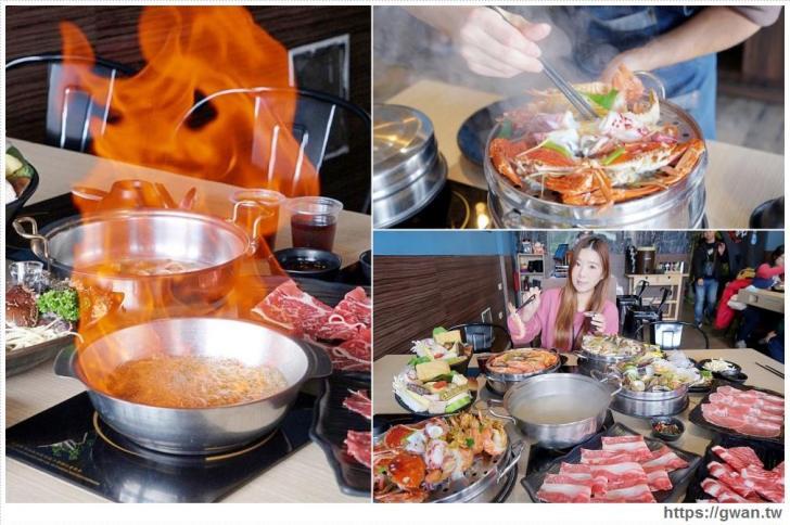 20190121215242 99 - 熱血採訪   沙鹿絕品火鍋,麻油鍋倒半罐米酒,直接上演超狂火焰秀