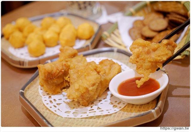 台中美食有春茶館   口水炸雞
