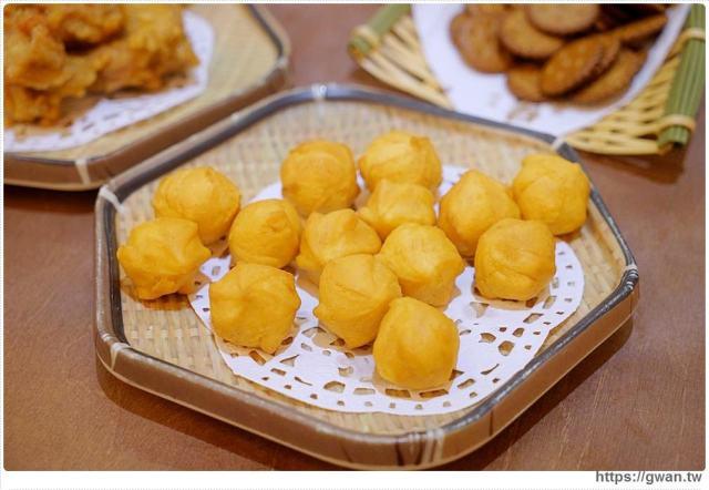 台中美食有春茶館  QQ地瓜球