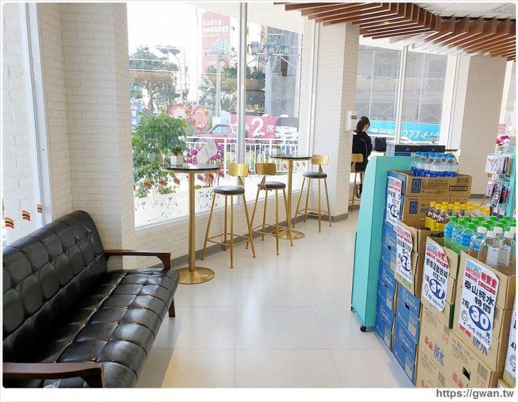 20191018210814 80 - 台中最新7-ELEVEN特色門市,純白簡約美得像咖啡廳的保雅門市