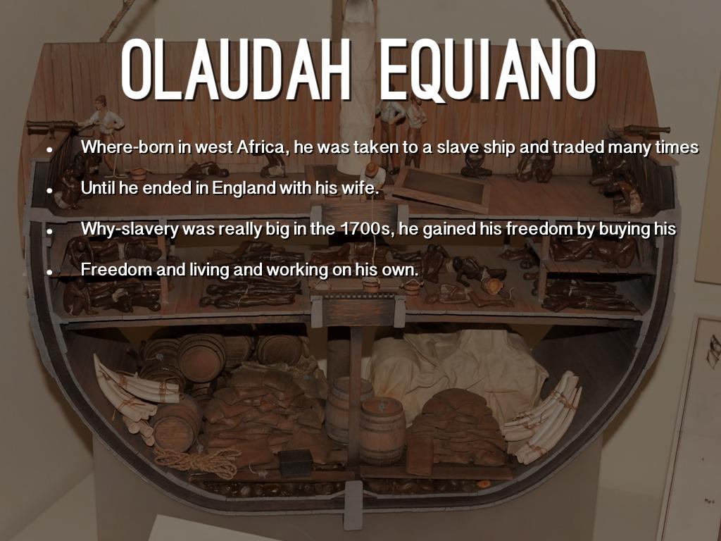 Olaudah Equiano By Nick Eldridge