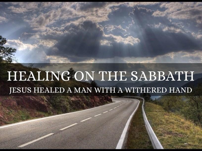 Hasil gambar untuk healing on the sabbath