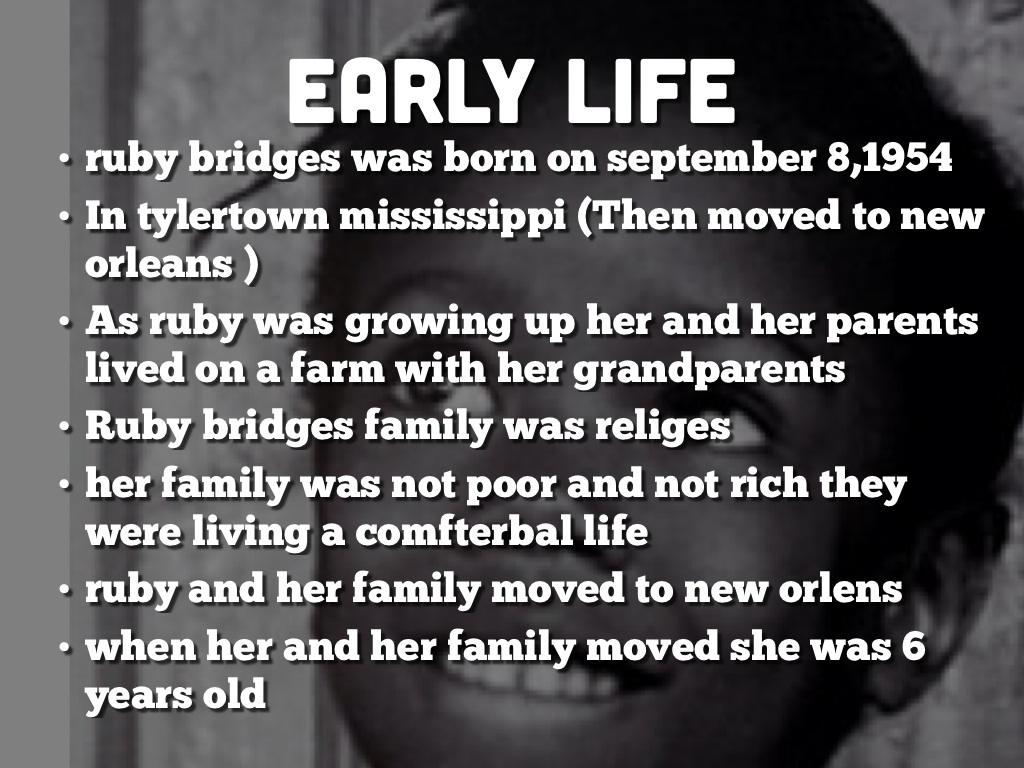 Ruby Bridges By Miranda Gouza