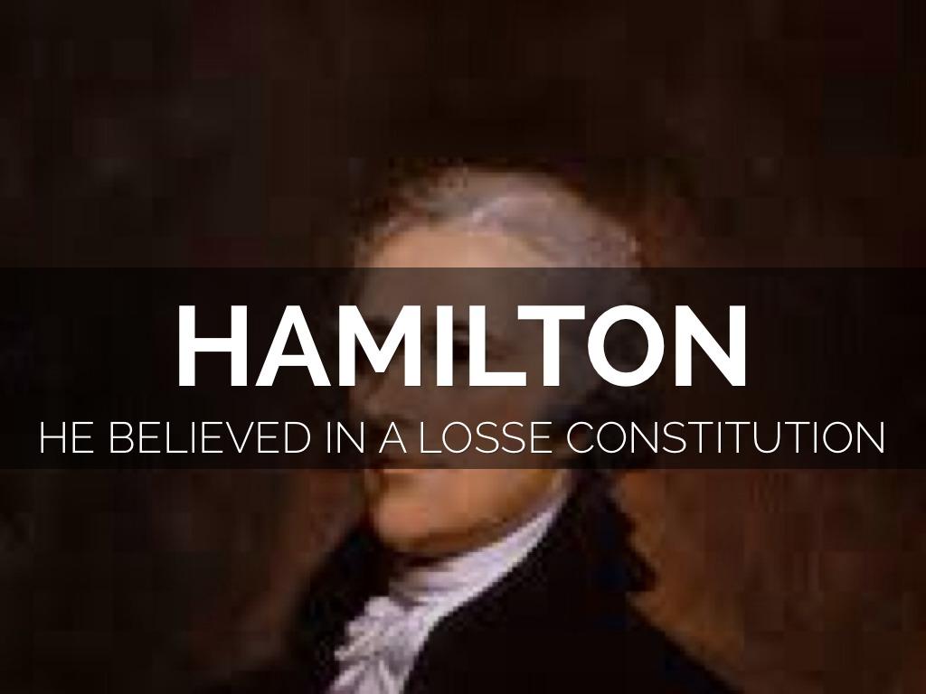 Hamilton Vs Jeffirson By