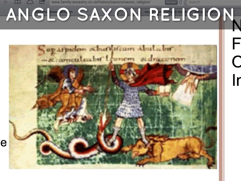 Anglo Saxon By Emily Farley