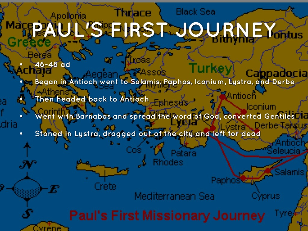 Paul S Journey By Max Keller
