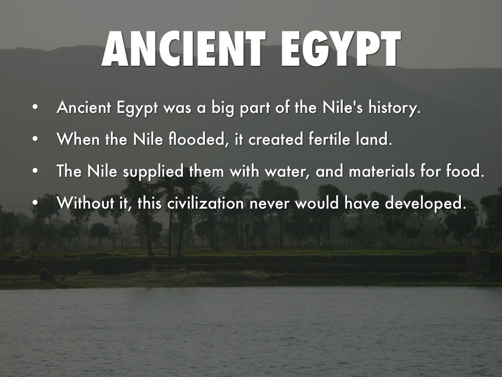 The Nile River By Makaylaelizabeth